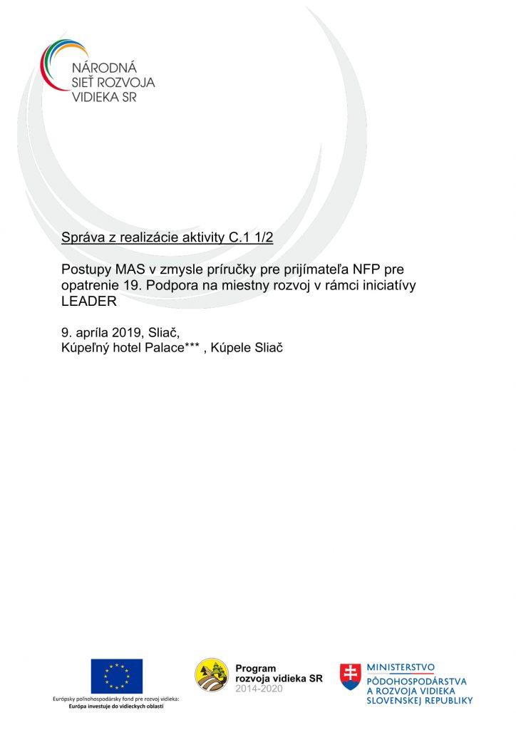 Správa C 1 1-2 ZA-1