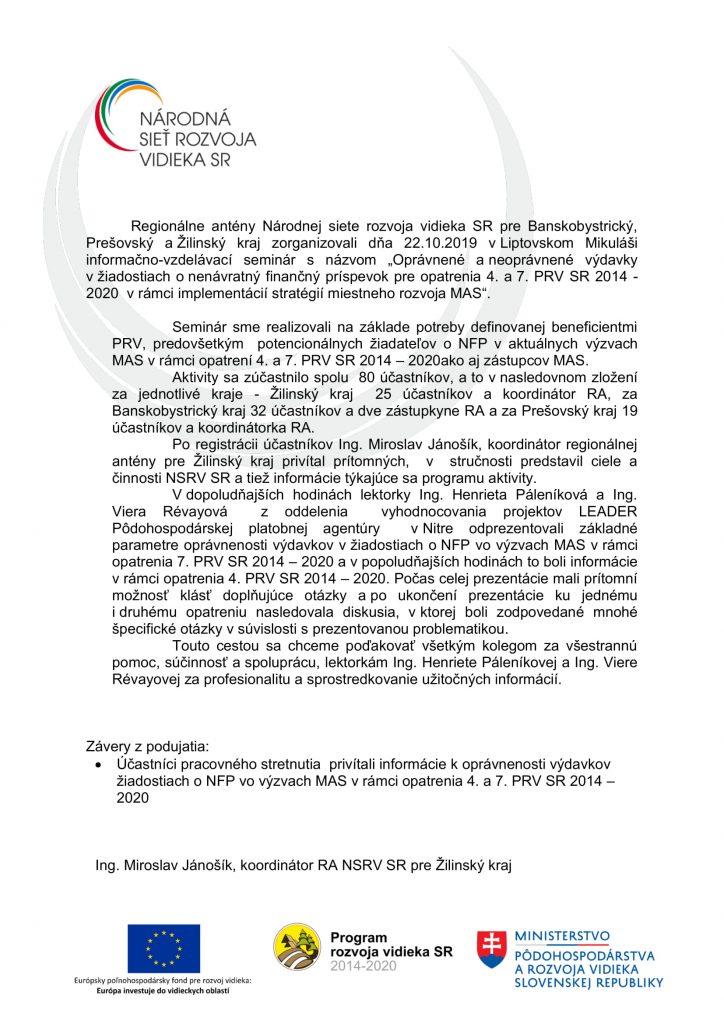 Správa C 1 1-4 ZA-2