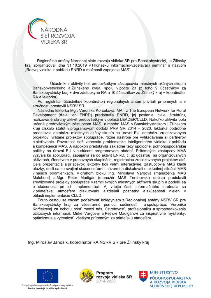 Správa C 1 1-5 ZA-2