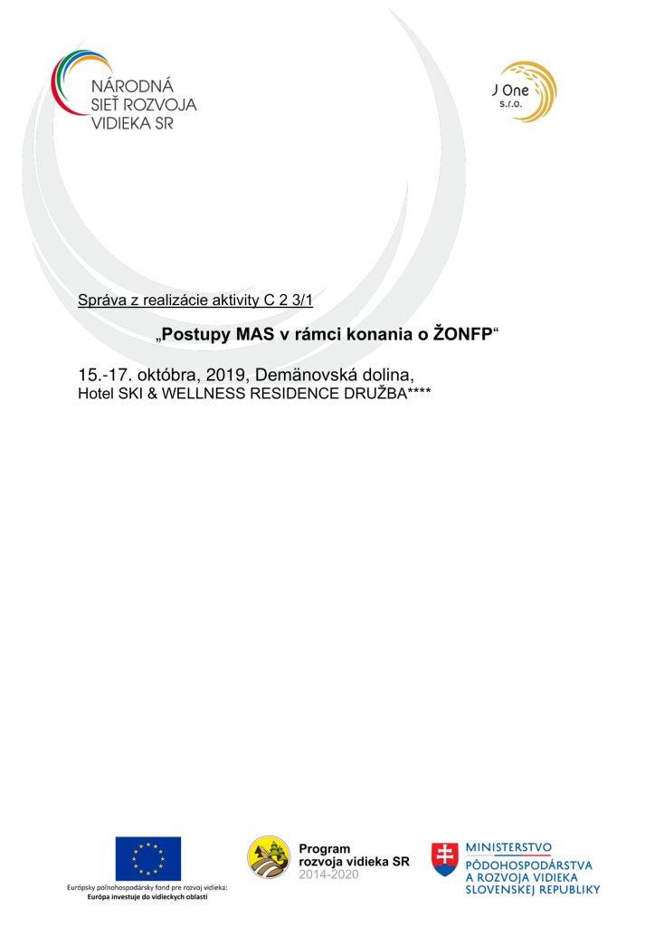 Správa C 2 3-1 ZA-1