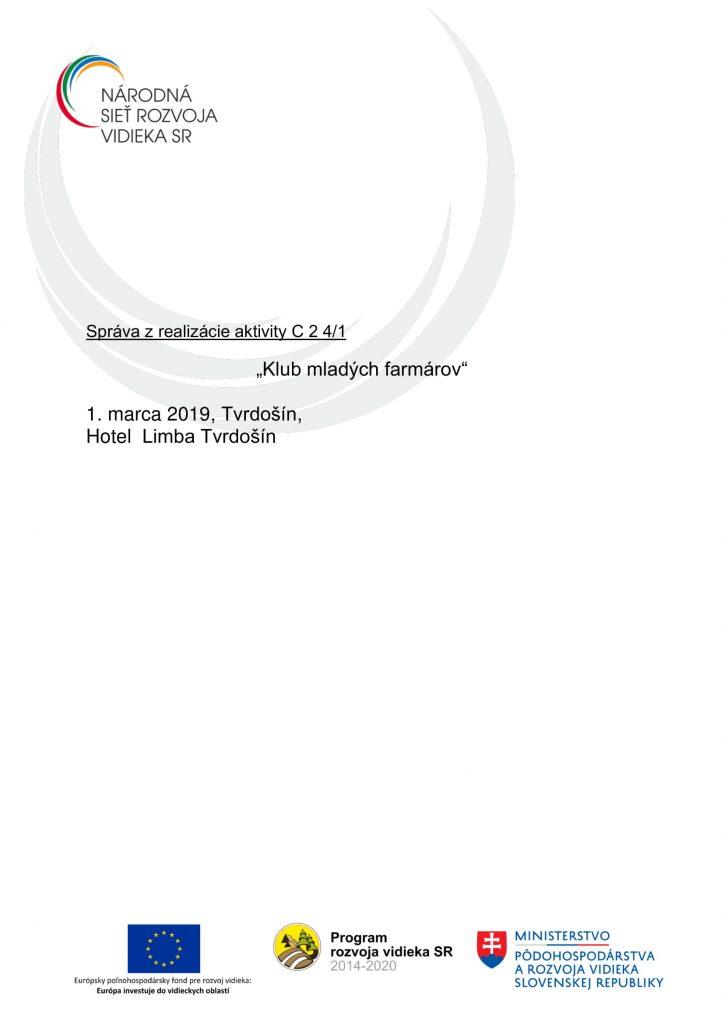 Správa C 2 4-1 ZA-1