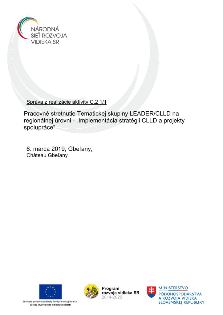 Správa z aktivity C 2 1-1 ZA-1