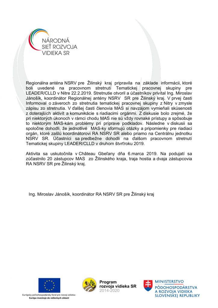Správa z aktivity C 2 1-1 ZA-2