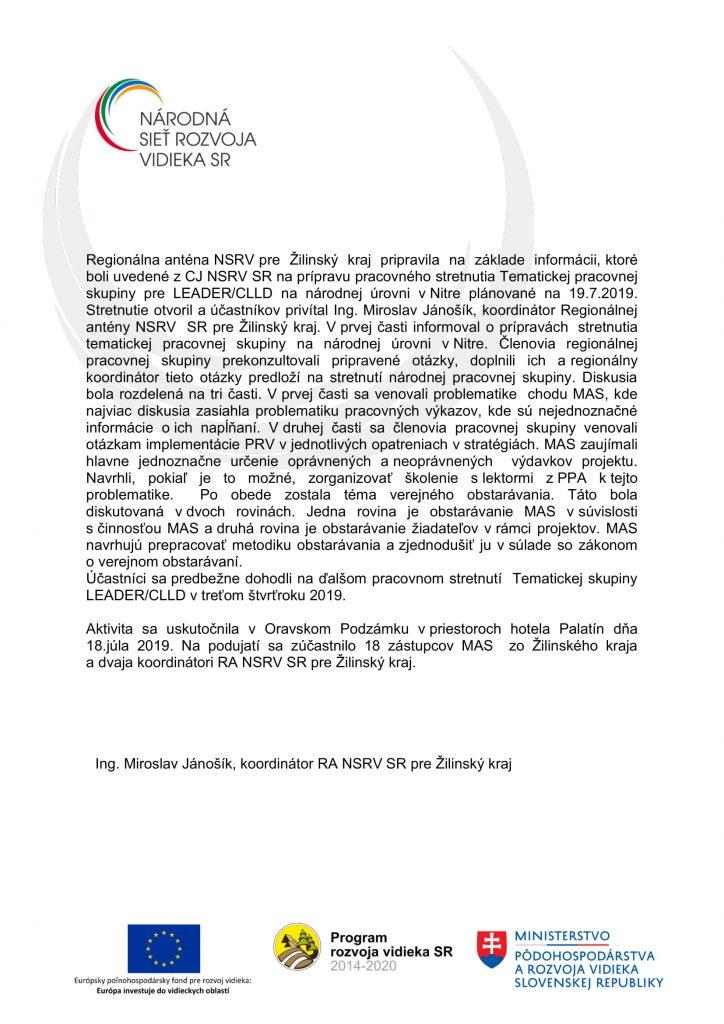 Správa z aktivity C 2 1-2 ZA-2