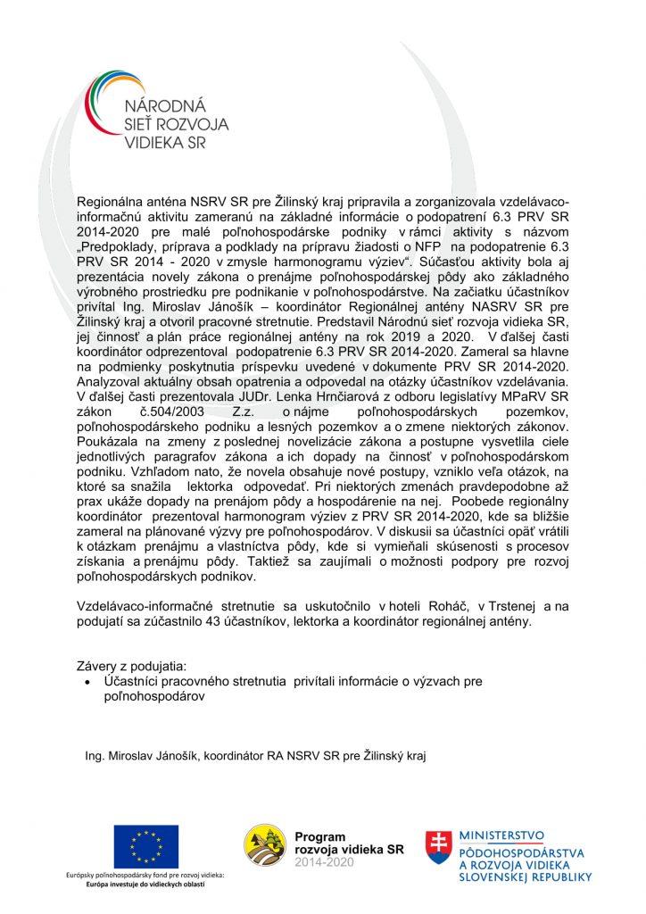 Správa C 1 1-7 ZA-2