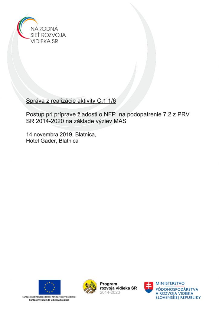 Správa z aktivity C 1 1-6 ZA-1